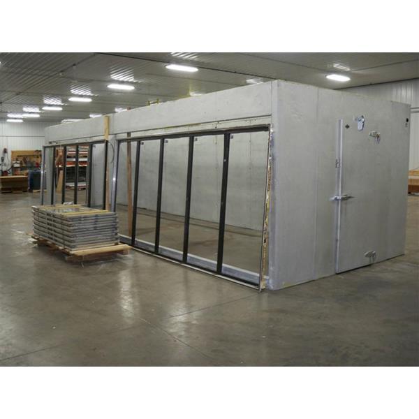 Leer mnfg panels and Ardco Walk-in Cooler  sc 1 st  Barr Refrigeration & Leer mnfg panels and Ardco Walk-in Cooler (334 Sq. Ft.) | Barr ...