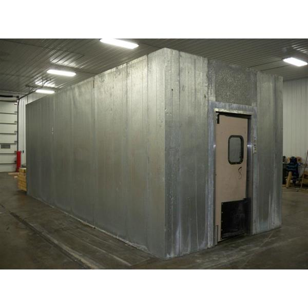 "Walk In Cooler Panels >> 9'8"" x 24' x 10'H Walk-in Cooler or Freezer (232 Sq. Ft.) 