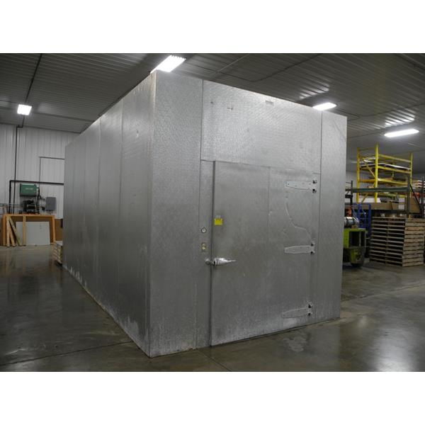10 X 20 X 10 H Walk In Cooler Or Freezer 200 Sq Ft Barr Commercial Refrigeration