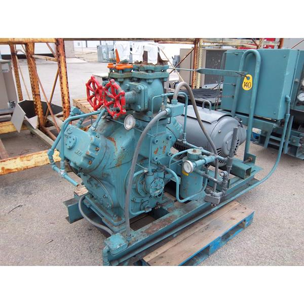 Frick Belt Driven Reciprocating Compressor 140 75 Hp
