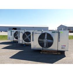 Used IMECO ammonia cooler unit.