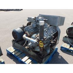 Used Belt driven refrigeration compressor.