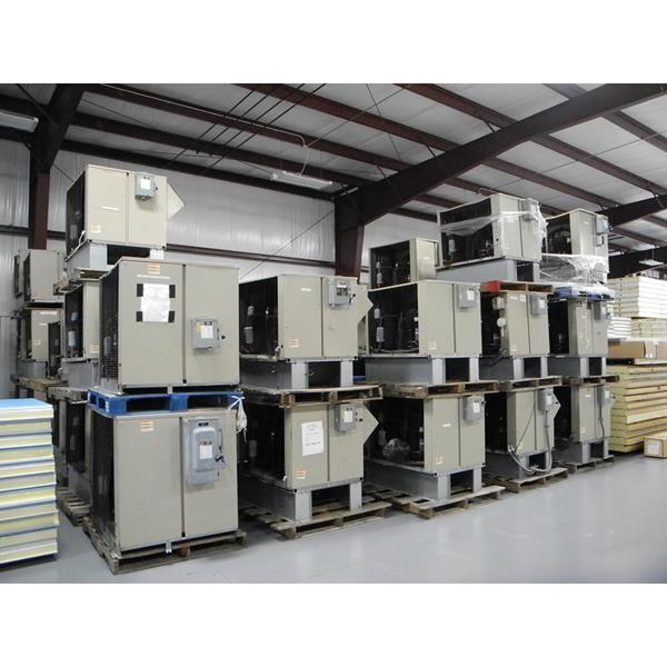 Used Low Temp Refrigeration Systems for Walk-in Freezers