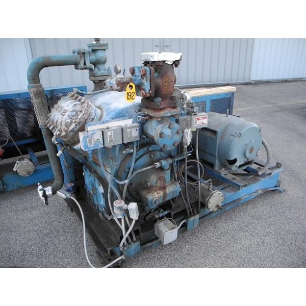 Howe Belt Driven Reciprocating Compressor (#192)