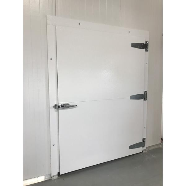 4' x 7'H Swinging Cooler Door