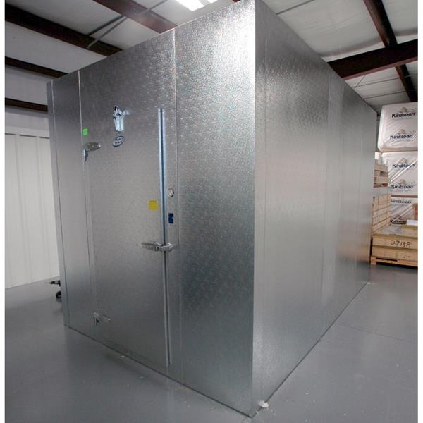 10 X 12 X 8 H Cci Walk In Cooler Freezer Combination