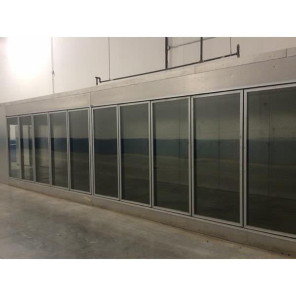 10 39 X 65 39 X 8 39 2 H Display Glass Door Walk In Cooler 650