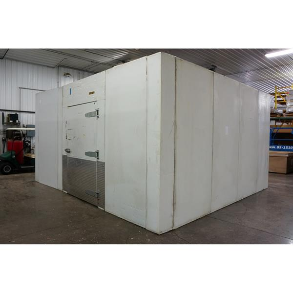 15 39 6 x 17 39 5 x 9 39 2 h hussmann walk in cooler 270 sq ft