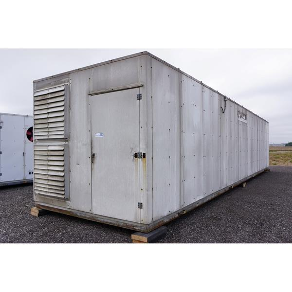 "10' x 44' Hill-Phoenix Equipment ""Penthouse"" Unit"