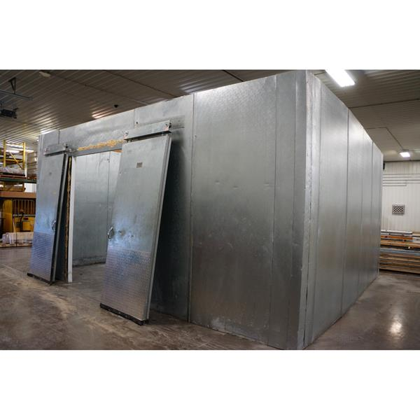 "18'5"" x 20'1"" x 9'11""H (Y) Crown-Tonka Walk-in Cooler"