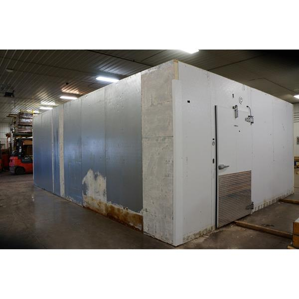 "17'10"" x 25'8"" x 9'6""H Kysor Walk-in Cooler or Freezer"
