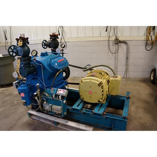 Vilter Belt Driven Reciprocating Compressor 70 50 Hp
