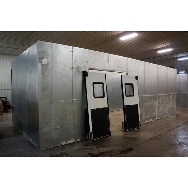"11'5"" x 32'8"" x 9'6""H (Irregular) Kysor Walk-in Cooler"