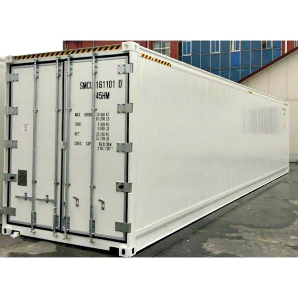 40' Insulated Container with Remote Refrigeration System