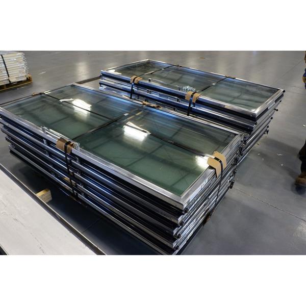 Set Of 20 30x65 Anthony Mnfg Glass Cooler Doors Barr