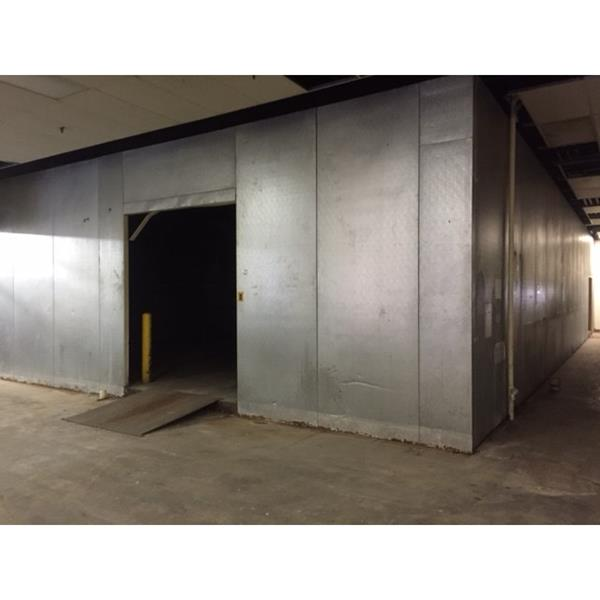 "28' x 60'5"" x 12'H Crown-Tonka Drive-in Cooler or Freezer"