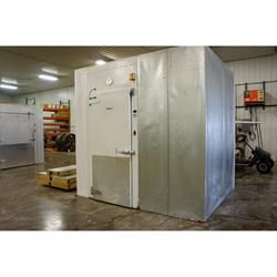 711 x 94 x 95h kysor walk in cooler or freezer 74 sq ft used view get quote - Walk In Refrigerator