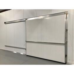 8\u0027x 8\u0027H Barr Manual Sliding Cooler / Freezer Door New View / Get Quote » ...  sc 1 st  Barr Refrigeration & Used Walk In Cooler Doors | Commercial Freezer Doors | Barr ...