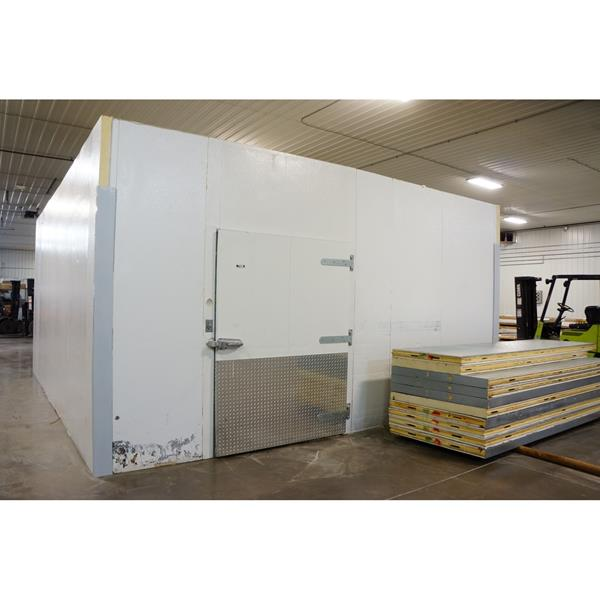 "19' x 21' x 10'4""H Tyler Walk-in Cooler"