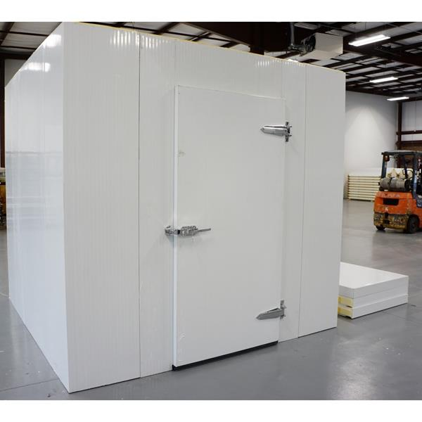 8' x 8' x 8'H (Nominal) Barr Walk-in Cooler