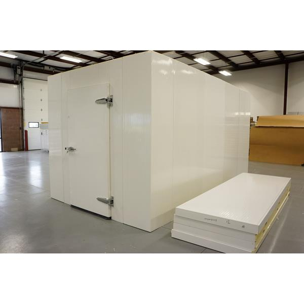 8' x 15' x 8'H (Nominal) Barr Walk-in Cooler