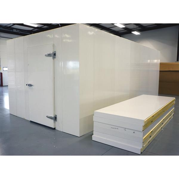 10' x 16' x 8'H (Nominal) Barr Walk-in Cooler