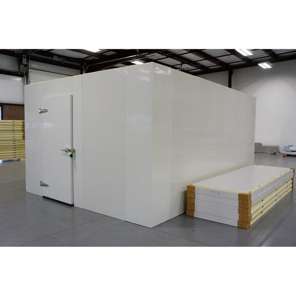 12' x 16' x 8'H (Nominal) Barr Walk-in Cooler