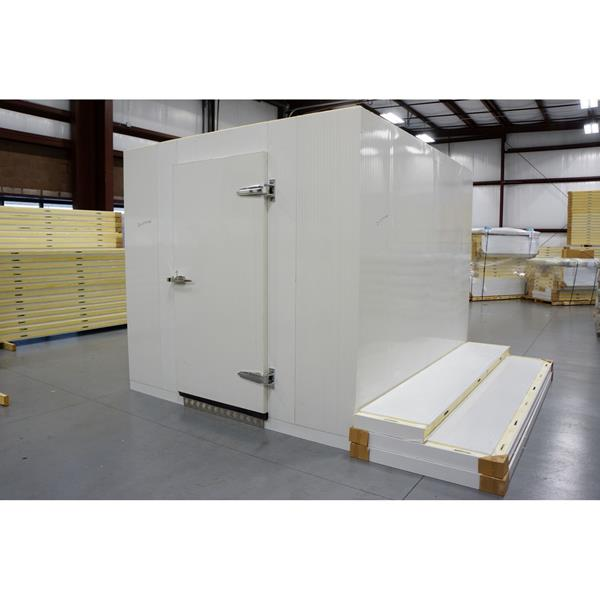 8' x 10' x 8'H (Nominal) Barr Walk-in Freezer with Floor