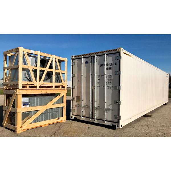 40' Blast Freezer Package