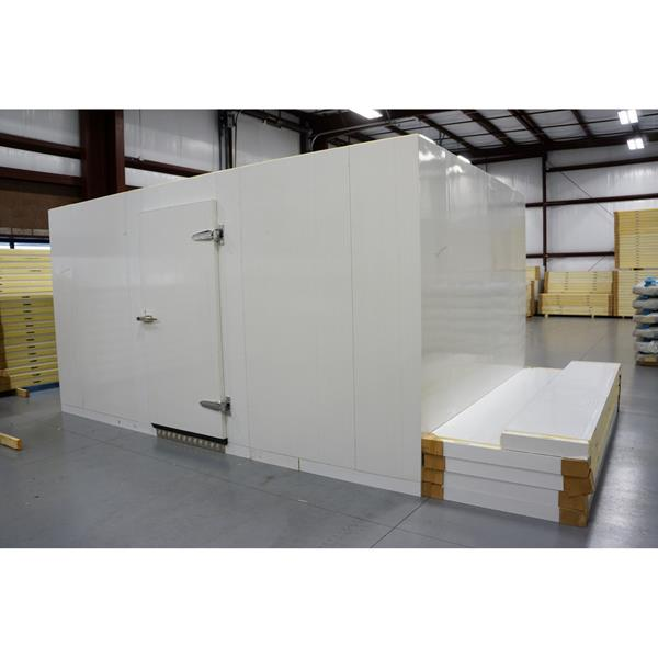 10' x 15' x 8'H (Nominal) Barr Walk-in Cooler with Floor