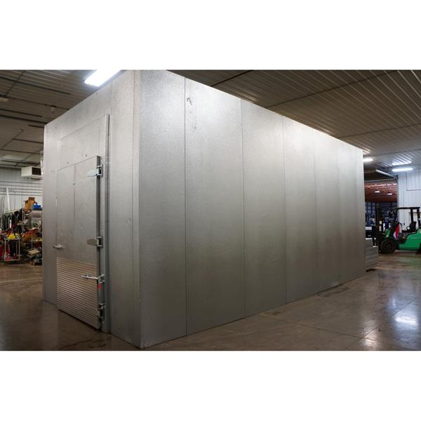 "11'9"" x 24' x 12'H Imperial-Brown Walk-in Cooler or Freezer"