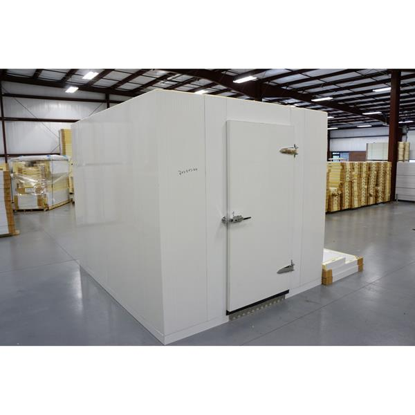10' x 18' x 8'H (Nominal) Barr Walk-in Cooler with Floor