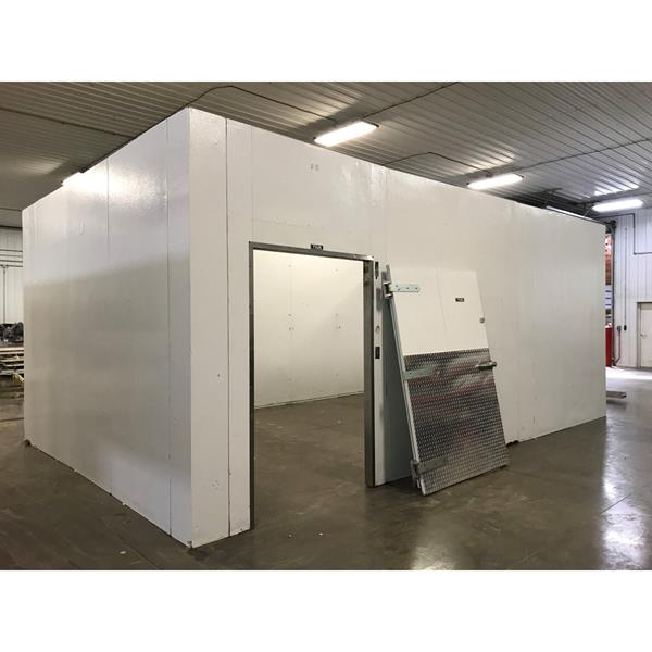 "15' x 24' x 10'4""H (11'2"" w-beam) Tyler Walk-in Cooler or Freezer"