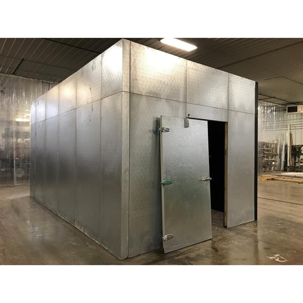 "12' x 20'4"" x 10'6""H Carroll Coolers Walk-in Cooler"