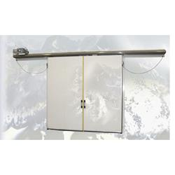 8\u0027 x 8\u0027 Frank Mnfg Electric Bi-Part Sliding Cooler Door Surplus View / Get Quote » ...  sc 1 st  Barr Refrigeration & Walk In Cooler Doors | Sliding Freezer Doors | Barr Commercial ...