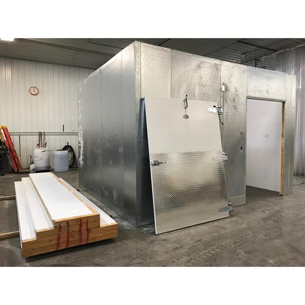 "12'4"" x 14'8"" x 10'H Kysor Walk-in Cooler or Freezer"