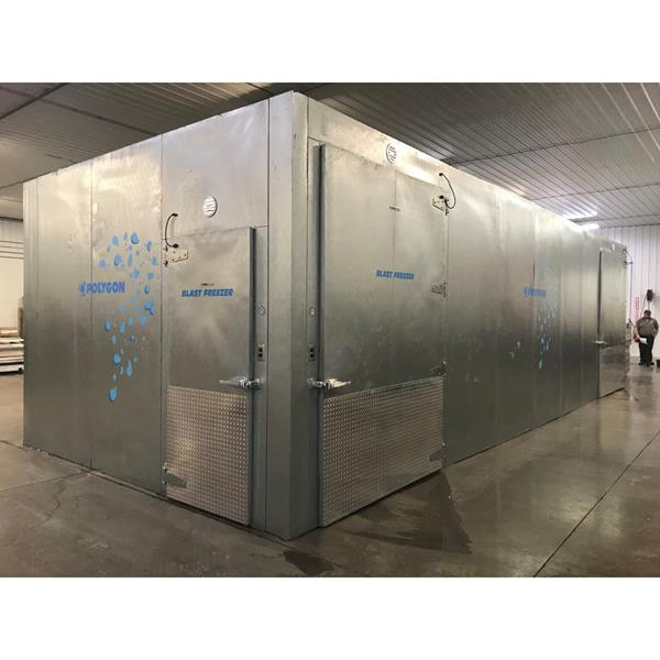 "14' x 34'9"" x 11'H Kysor Walk-in Cooler or Freezer"