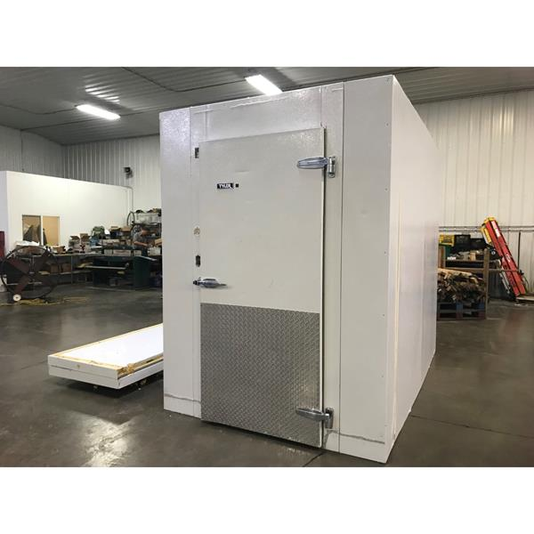 "6' x 10' x 8'4""H Tyler Walk-in Cooler with new condensing unit"