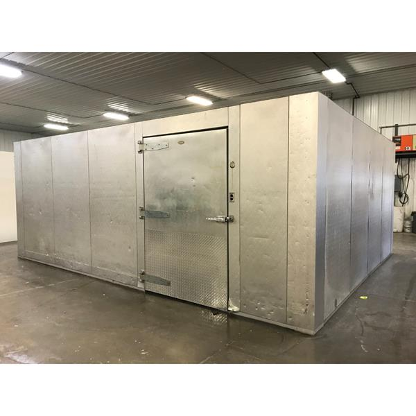 "17'4"" x 21'2"" x 8'5""H(9'1"" w-beam) WA Brown Walk-in Cooler or Freezer"