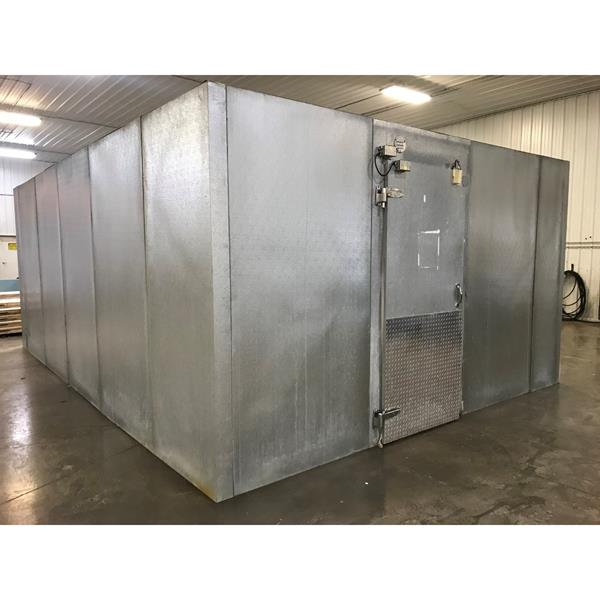 "14'3"" x 20'1"" x 8'4""H National Coolers Walk-in Cooler"