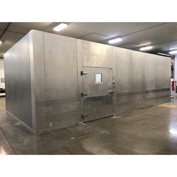 "14'6"" x 30' x 10'H ThermaKool Walk-in Freezer with Floor"