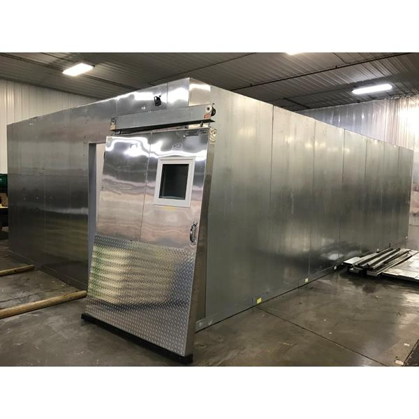 "16'3"" x 28'10"" x 8'7""H Kolpak Walk-in Freezer with Floor"