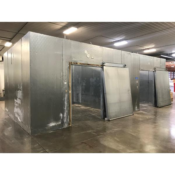 "14' x 28' x 10'2""H National Walk-in Combo Cooler/Freezer"