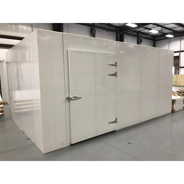 "11'6"" x 16'5"" x 8'H Walk-in Cooler with New Refrigeration System"