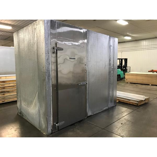 "6' x 10' x 8'6""H Kysor-Needham Walk-in Cooler with new condensing unit"