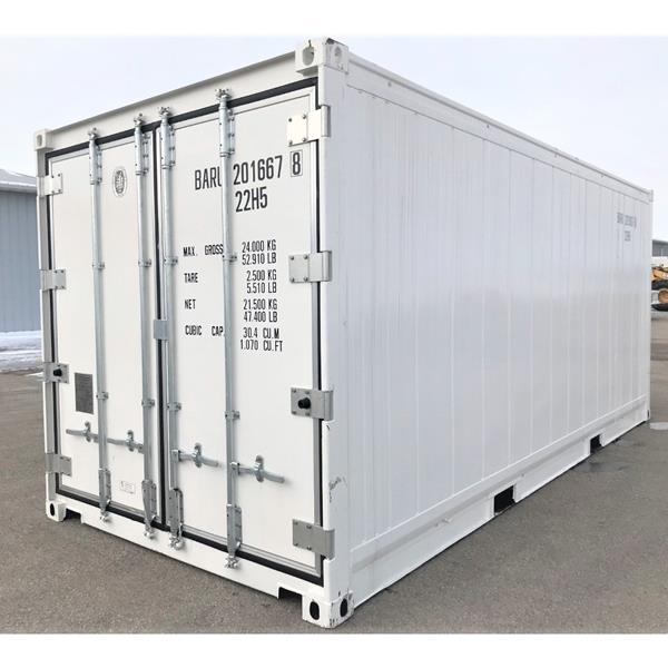 20' Refrigerated Container with Self-Contained Unit - Cooler (R)