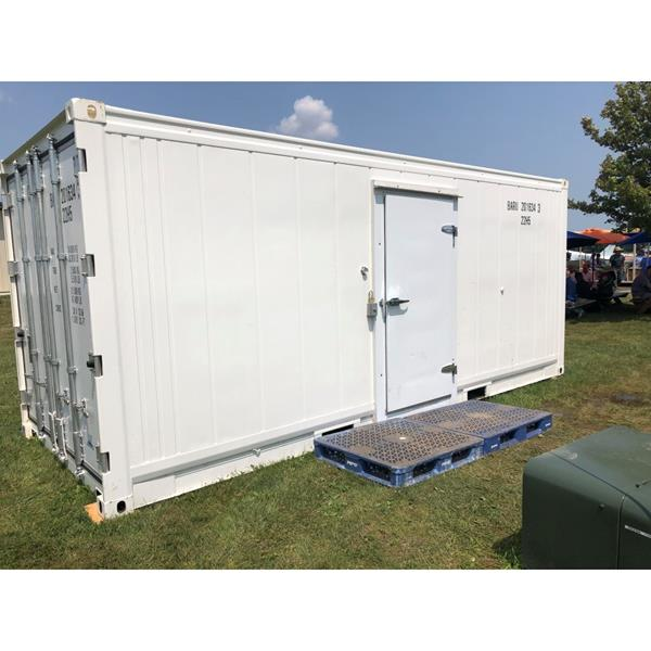 20' Refrigerated Container (Cooler #34)