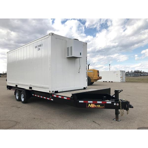 20' Refrigerated Container with Heavy Duty Trailer (Freezer)