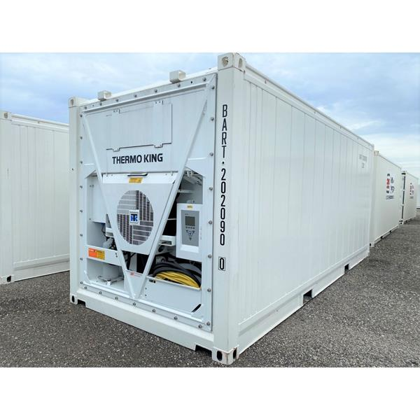 20' Reefer Container with Thermoking Magnum Refrigeration (Dual Temp Cooler-Freezer)