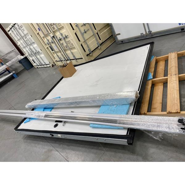 "8'x 8'H ""Scratch & Dent"" Manual Sliding Cooler Door (LH)"